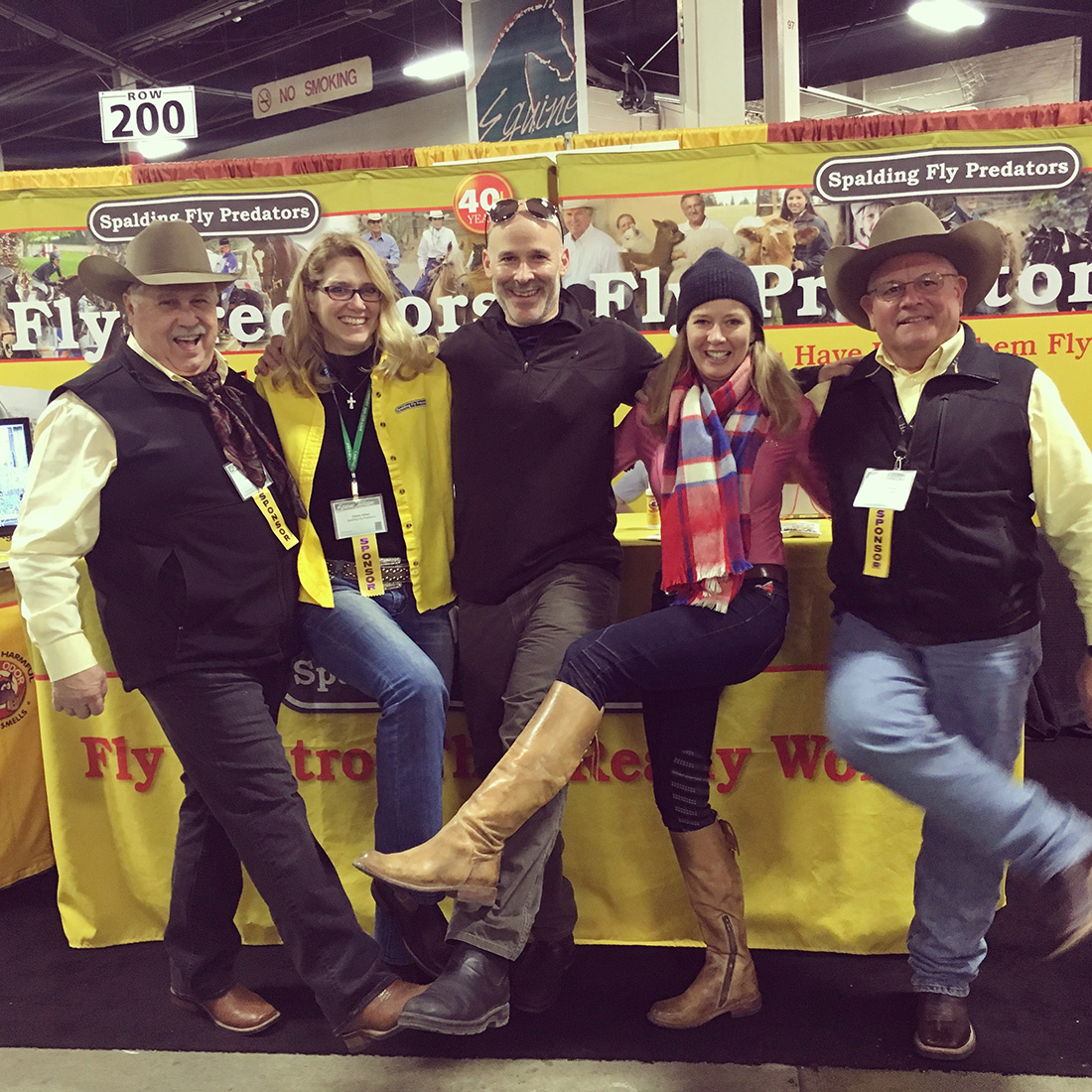 Splendid Time at Equine Affaire with Spalding Peeps