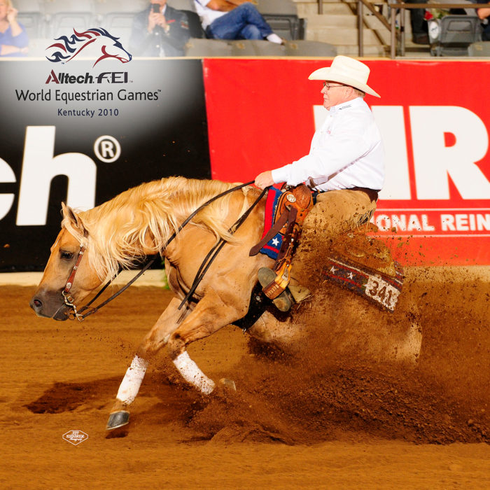 Reining's Million Dollar Man Tim McQuay